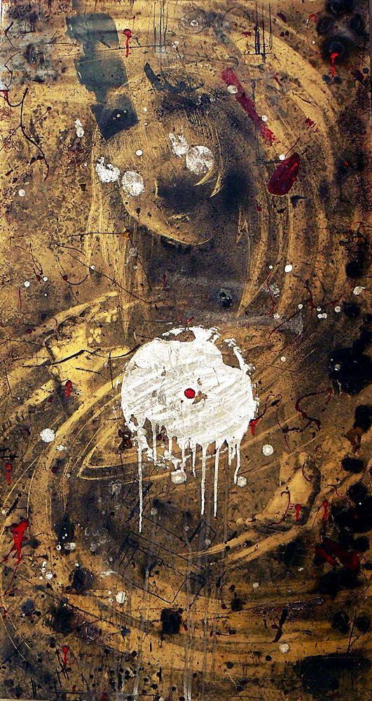 sztuka brudna - obraz malowany w brudzie na desce, 75/140 cm /art of dirt - picture painted in the dirt on a board, 29,5/55inch http://www.facebook.com/cin3k88/ na sprzedaż/for sale