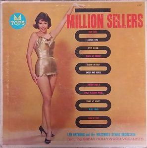 $22 - ebay RARE 1958 Mary Tyler Moore album cover Lew Raymond Million Sellers Cheesecake LP
