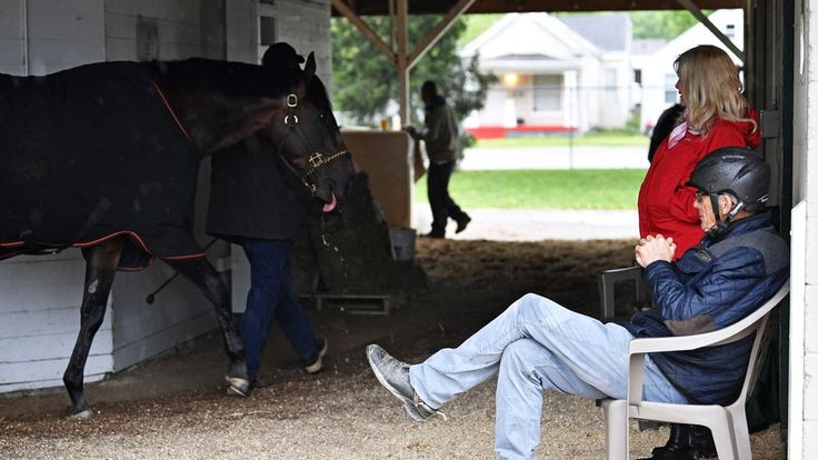 A Preakness contender broke his ankle on Sunday and will be retired.