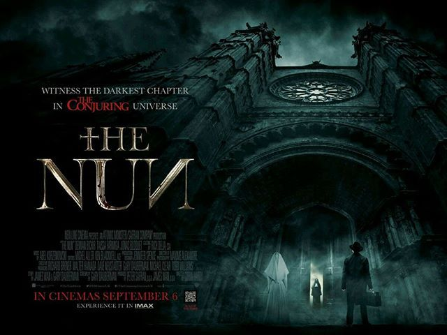 Thenun The Conjuringuniverse In Imax Film Review Head On Over To Our Website Via The Link In Our Bio For Our Review Imax The Conjuring Nuns