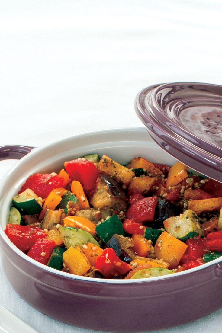 Easy Ratatouille #goodfoodrealfast #vegetarian