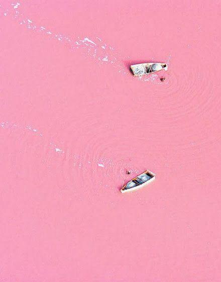 Lake Retba, Senegal: