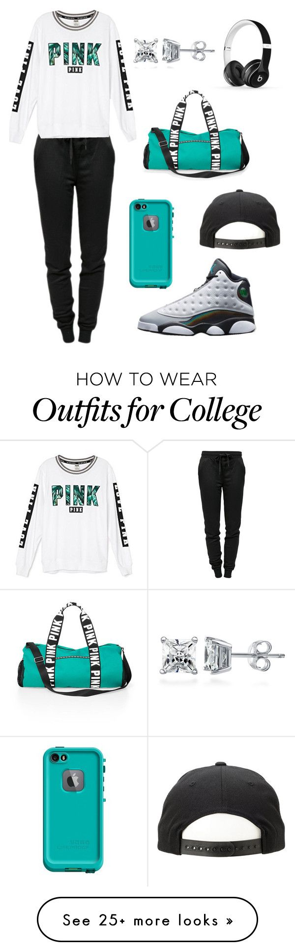 """""""All My Friends~ Snakehips ft. Tinashe & Chance the Rapper"""" by ieshia-dumas on Polyvore featuring T By Alexander Wang, Victoria's Secret, Retrò, Victoria's Secret PINK, LifeProof, Beats by Dr. Dre and BERRICLE"""