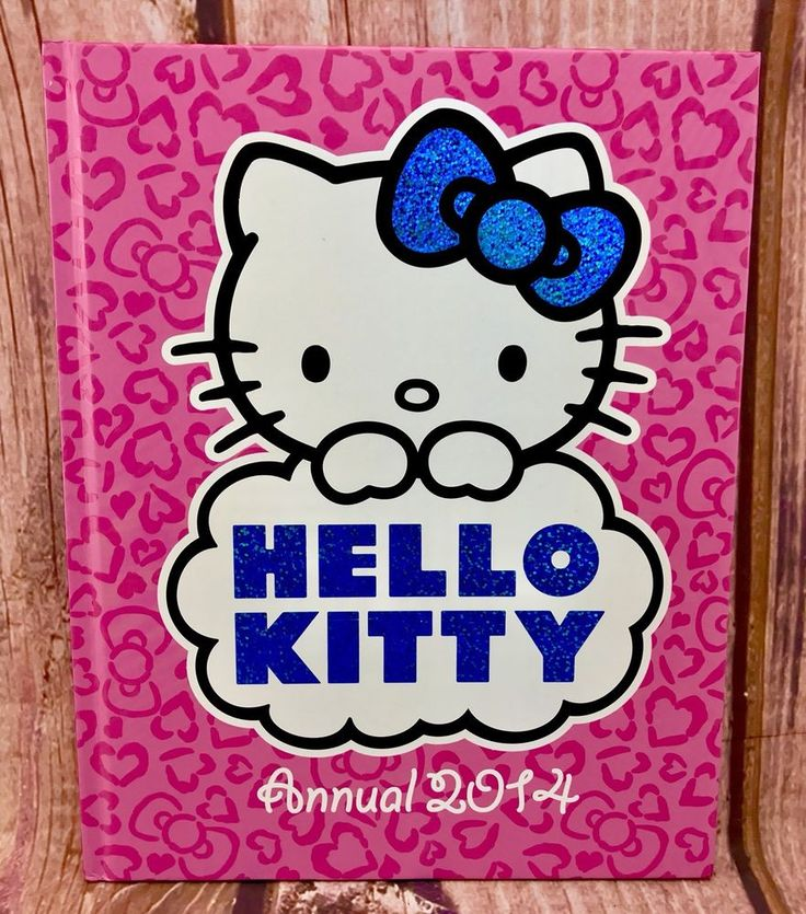 Hello Kitty Annual 2014 by Harper Collins Publishers (Hardback, 2013) nice book