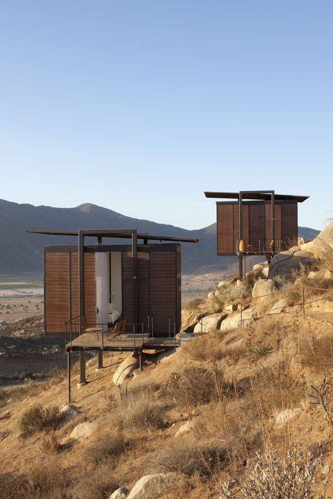 hotel endémico, valle de guadalupe, mexico.