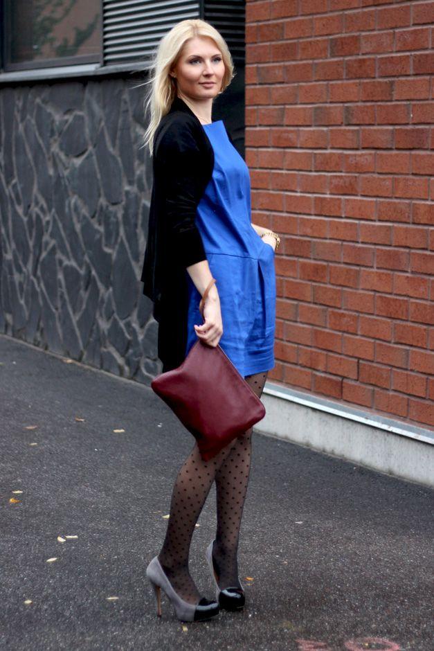 Dress: Lille Clothing / Knitting: HM / Shoes: Diavolina / Bag: Massimo Dutti