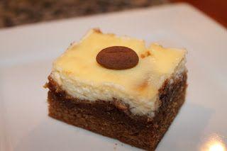 Marias Madside: Kaffe/kanel-brownie med flødeost