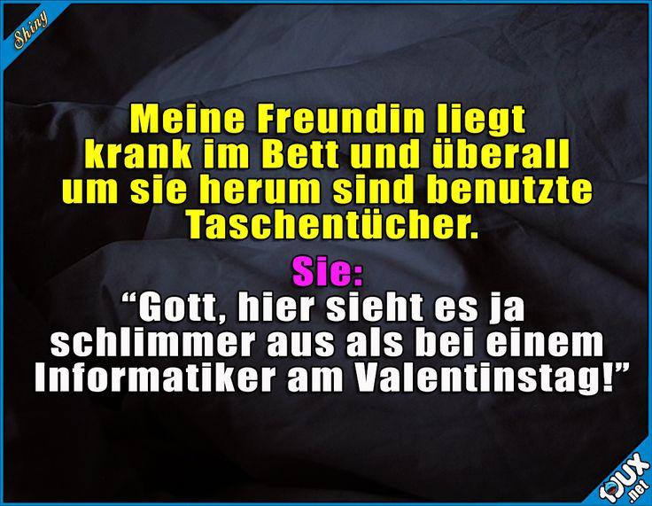 Immer auf die armen Informatiker #Informatikerwitz #allein #foreveralone #nurSpaß #Humor #lachen #Sprüche #WhatsAppSprüche