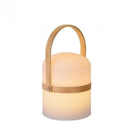 Baladeuse LED - Lampe Joe IP44 H26 cm - Blanc 80
