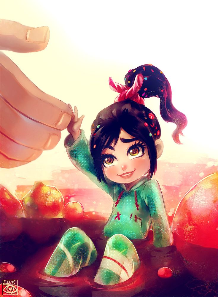 Vanellope by ~E-X-P-I-E on deviantART