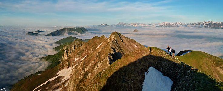 Didier Karl      Moulle de Jaüt (2050 m) - Pyrénées béarnaises - France