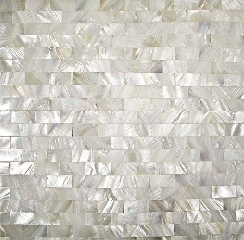 Factory Direct 5 Sheets/lot Mother of Pearl Tile Interlocking Subway Seamless Sheet 12''x12'' Kitchen Backsplash Mother of Pearl Tile Bathroom Floor Mirror Back Splash Decor Mesh Shower Bathtub Tiles Countertops Bar Fireplace Shell Mosaics Art Tile TST MOSAIC TILES http://www.amazon.com/dp/B00RFRTYAI/ref=cm_sw_r_pi_dp_QEJbvb0REBJB6
