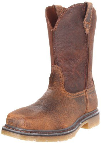 Ariat Men's Rambler Pull-on Steel Toe Work Boot *** You can find out more details at the link of the image.