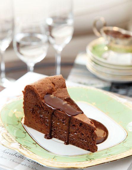 עוגת השוקולד של בראסרי, כשר לפסח (צילום: דניה ויינר ,על השולחן)