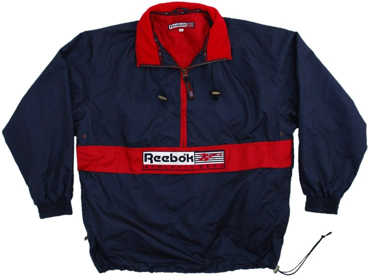 Vintage Reebok Pullover Jacket Size Medium | Reebok | CLOTHES ...