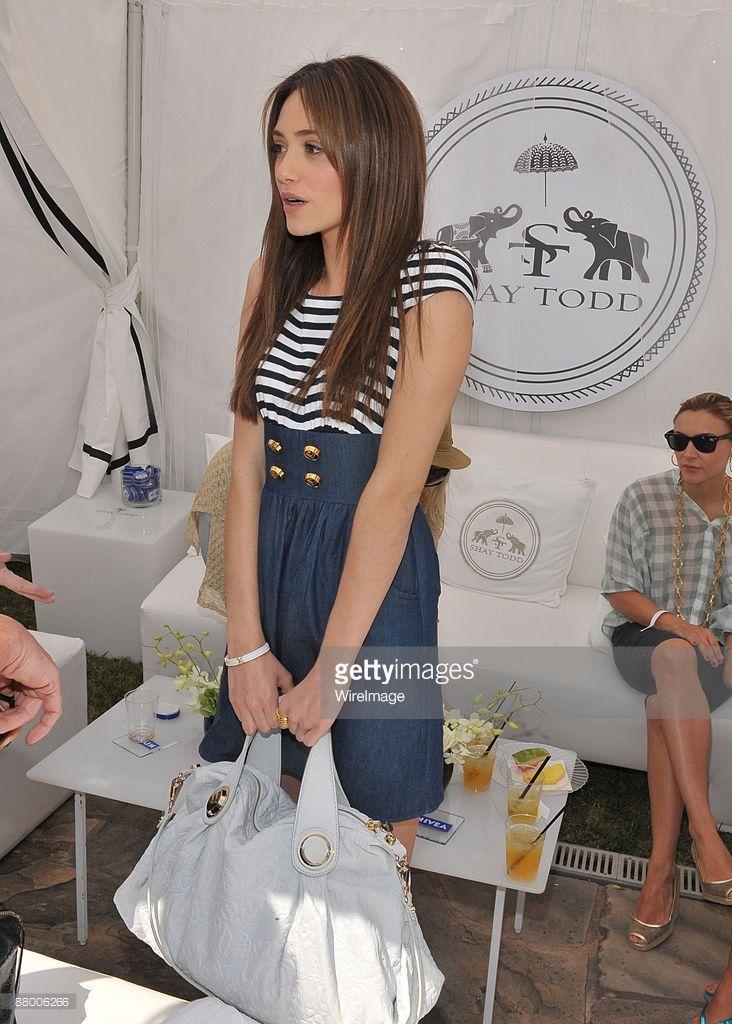 Emmy Rossum attends Nivea and Shay Todd's 'Bikini Bash' at Nivea Beach House on May 24, 2009 in Malibu, California.