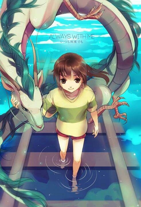 do chihiro and haku meet again someday
