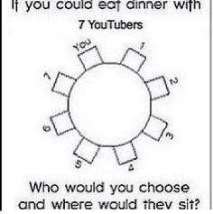 1.tyler Oakley  2.shane Dawson  3.daily grace 4.dan Howell  5.Phil Lester  6.onision 7.james from the janoskians