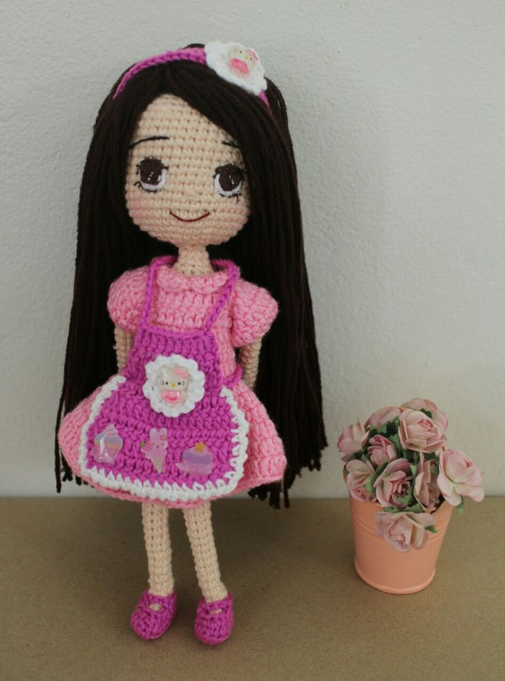 lovely crochetdoll