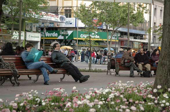Plaza Independencia - Concepción, Chile
