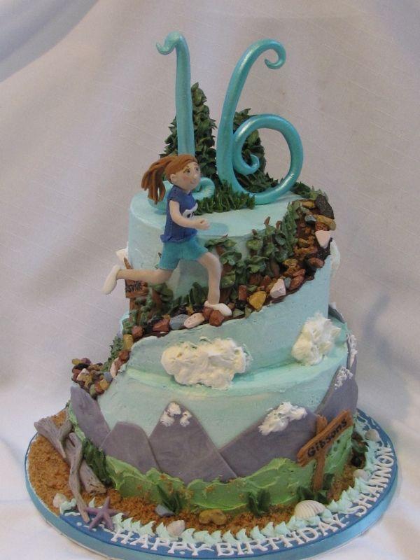 Muskoka Running cake