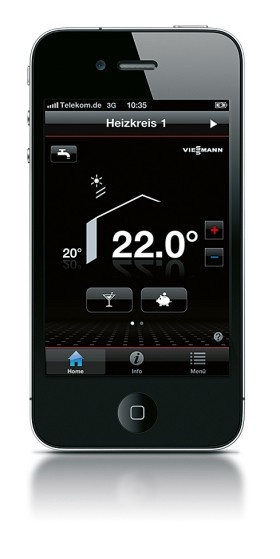 Viessmann apps: innovative applications for iPhone, iPad and smart phones with the Android operating system