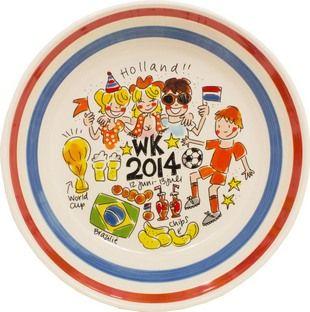 WK schaal 2014 van Blond-Amsterdam - Blond-Amsterdam officiële website