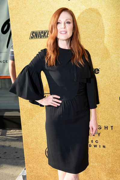 Julianne Moore attends 'Spike's One Night Only: Alec Baldwin' at The Apollo Theater.