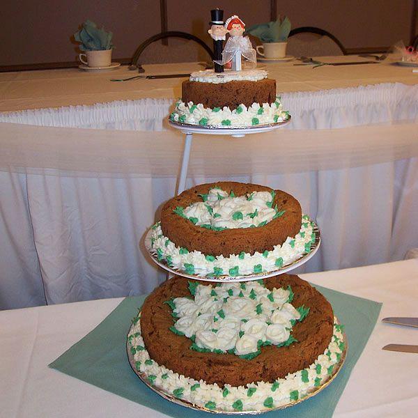 Cookie Wedding Cake