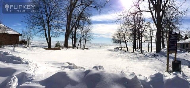 Another gorgeous winter view from our Crystal Hideaway cottage