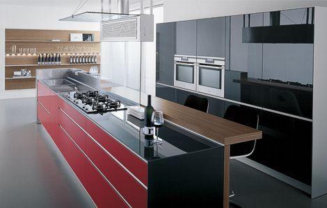#cocinas #diseño de cocinas diferentes #línea3