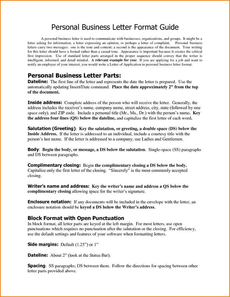 25+ melhores ideias de Formato de carta formal de negócios no - business letter salutation