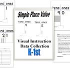 This resource covers place values of numbers 1 – 31 and 10s through 90. Practice counting with the visuals before presenting the place values pages...