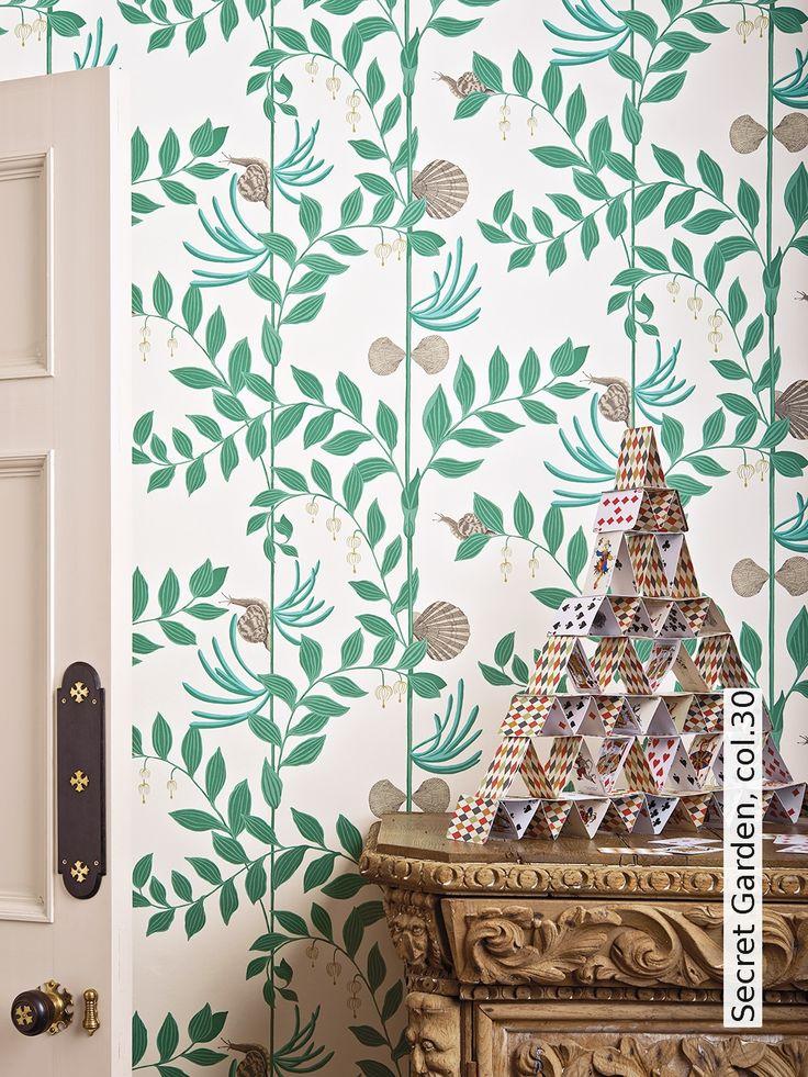 41 besten gr ne tapeten bilder auf pinterest gr ne tapete tapeten und malen. Black Bedroom Furniture Sets. Home Design Ideas