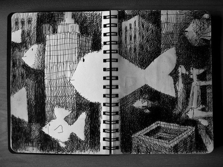 Sketchbook inspiration: Francesco Chiacchio