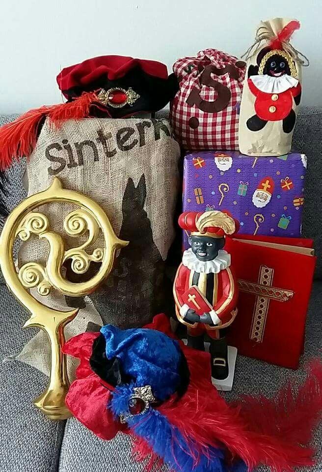 Klaarmaken voor het avondje van Sinterklaas!