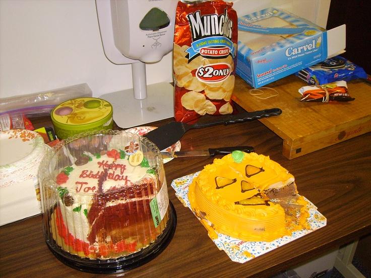 11.5.12 #oreo #frito-lay munchos #carvell #icecream #cake #giantfoodstore #red #velvet #cake