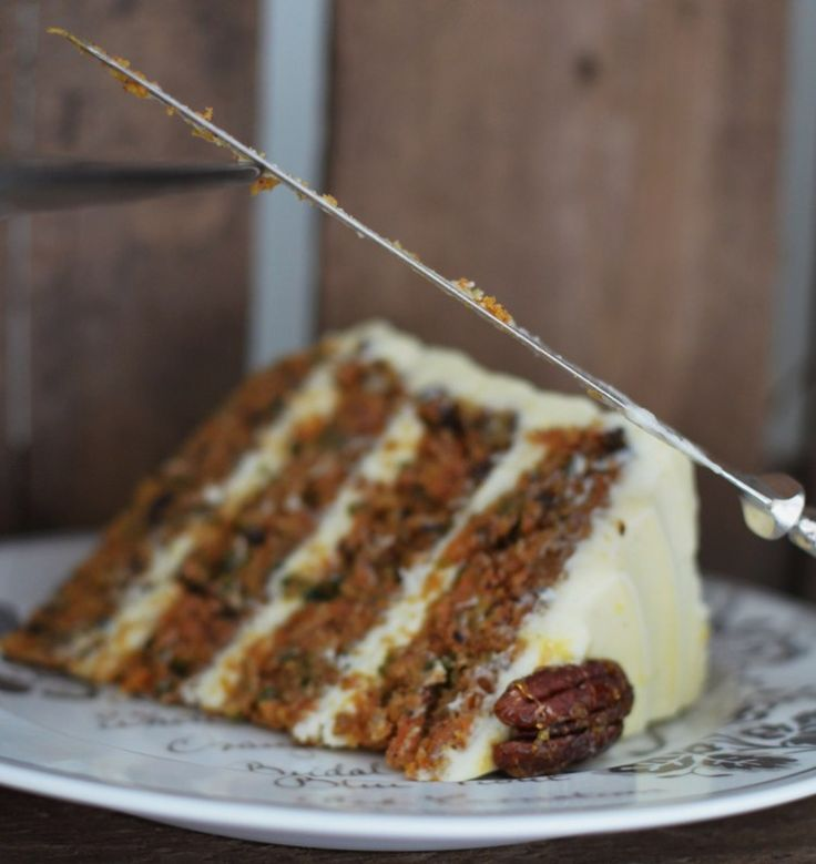 Carrot Cake with Toasted Pecans
