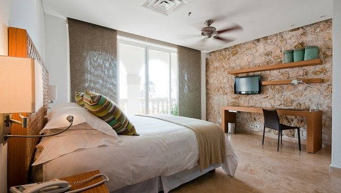 Movich Hotel Cartagena: Within the ancient walls of Cartagena's old town, the Movich is a haven of contemporary design.