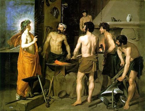 The Forge of Vulcan - Diego Velazquez