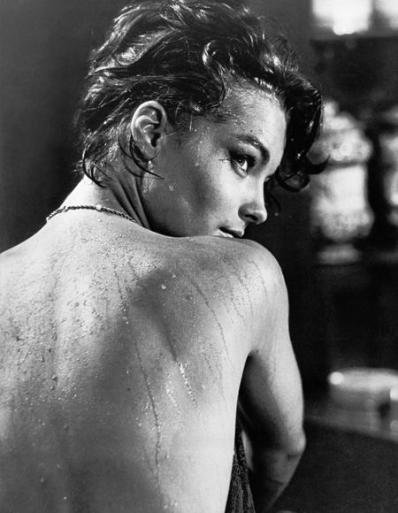 Romy Schneider in Luchino Visconti's movie. Obsession