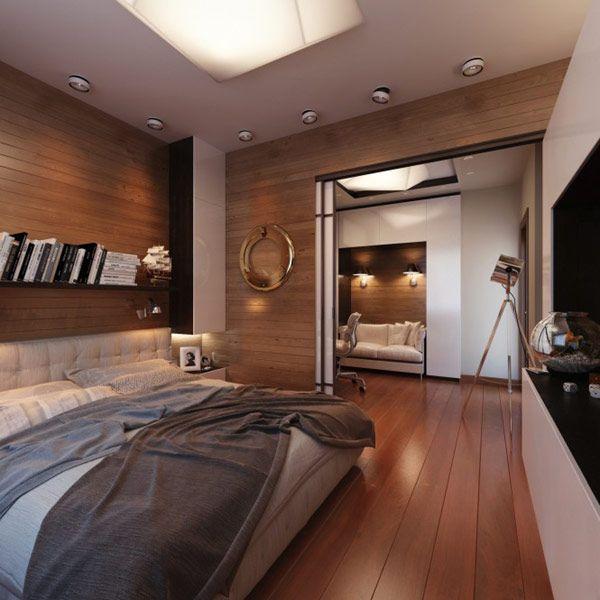 Holzboden Jugendzimmer moderne Einrichtung