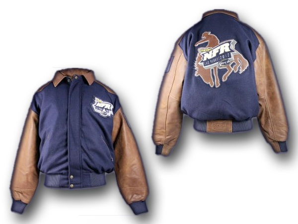 You're very own Official National Finals Rodeo Jacket! Oh yeah, and 2013 NFR tickets to the event in Las Vegas.  Bid to win! http://www.nfrexperience.com