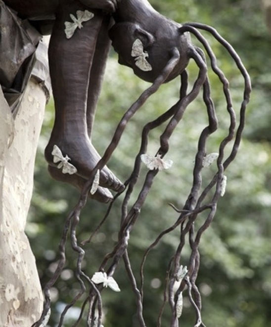 "Alison Saar's ""Spring"" (2011) in Madison Square Park. Photo by James Ewing. Courtesy Madison Square Park Conservancy."