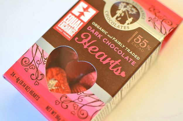 Equal Exchange Chocolate Hearts, $4.20 | The 21 Best Chocolates To Give Your Valentine