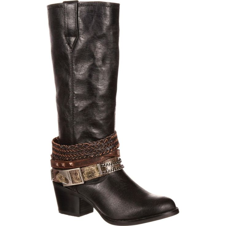Durango Drd0072 Women'S Black Western Boots -  With Box