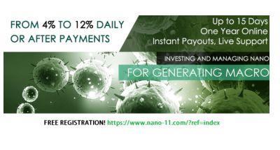 Investiere in NANO-Technologie