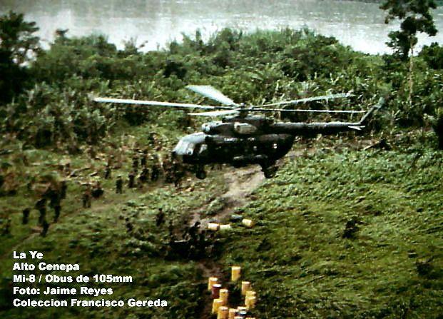 La Ye, Alto Cenepa, Mi-8