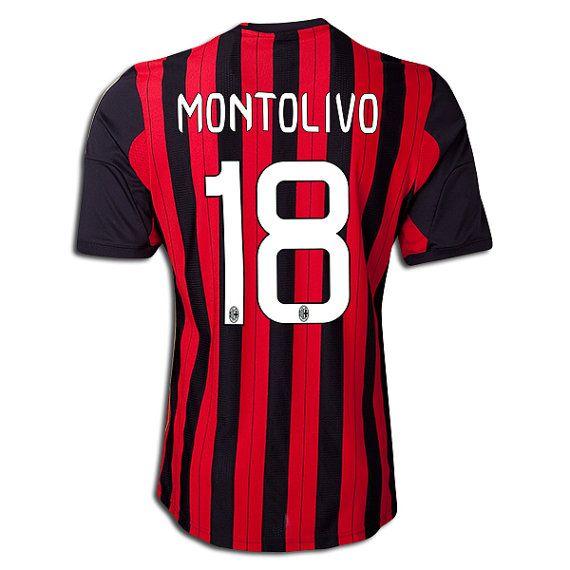 Youth Kids 2013/14 AC Milan Riccardo Montolivo 18 von SoccerAvenue, $54.95
