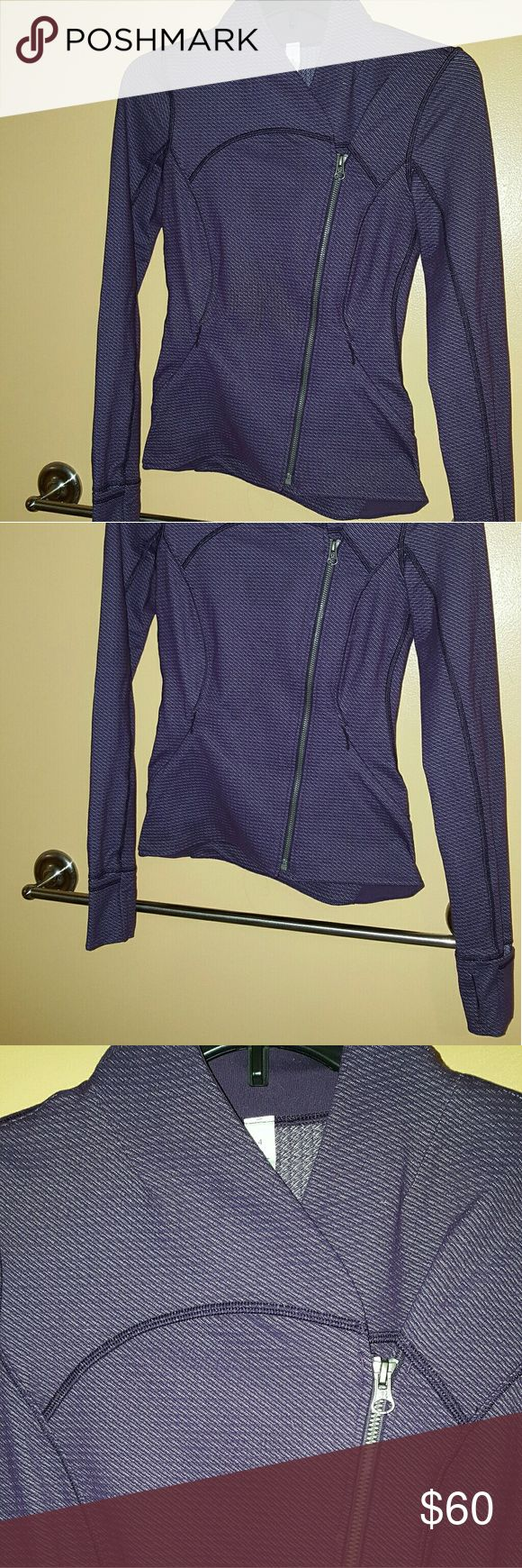 Lululemon Precision Jacket size 4 Lululemon Precision Jacket in size 4. Color deep zinfandel. Purchased from another clothing app NWT and only worn 2-3 times! lululemon athletica Jackets & Coats